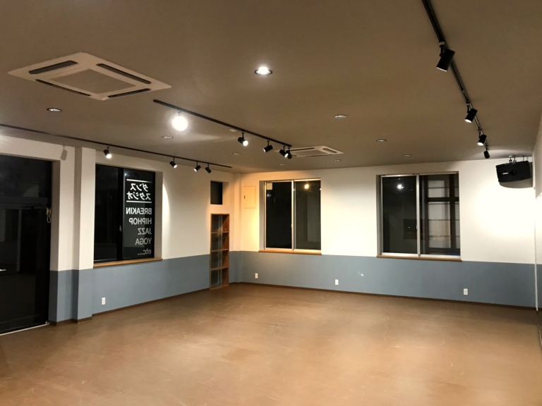 ダンススタジオトリガーのスタジオ